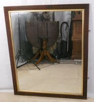Large Carved Frame Hanging Wall Mirror